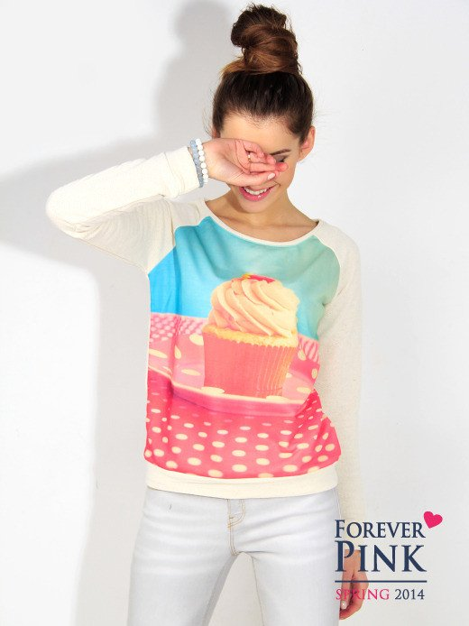 Forever Pink Bluza 'Crazy Muffin'