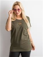 9727392407 Fluo różowa tunika z dekoltem na plecach - Bluzka Tunika - sklep ...