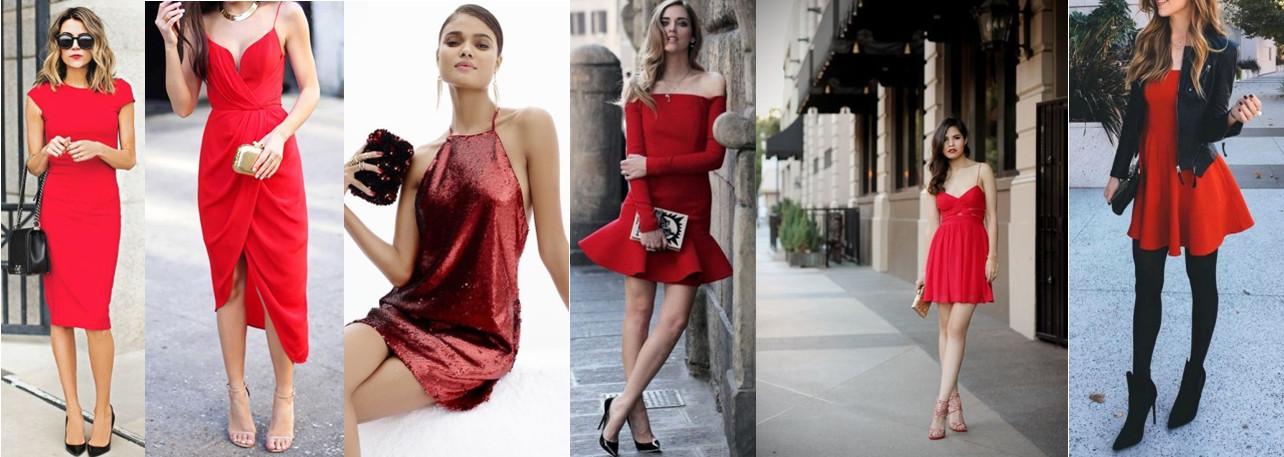 6ae38ab707 Czerwona sukienka – hit Sylwestra 2016!